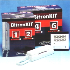 BitronKit többlakásos kaputelefon-rendszer